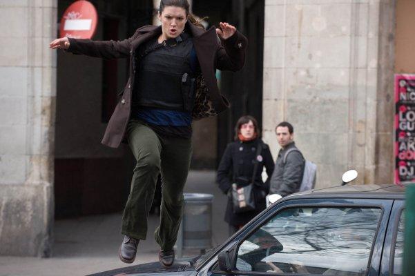 Gina Carano in Haywire