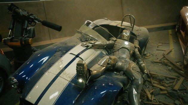 Robert Downey Jr as Iron Man in Iron Man [2008]