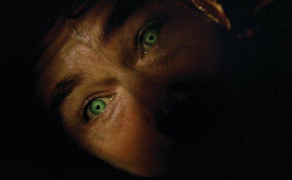 Edward Norton about to transform into the Hulk